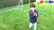 Learn Balls Sports for Children and Toddlers - Playing Outdoor Sports Kids Toys Fun Activities