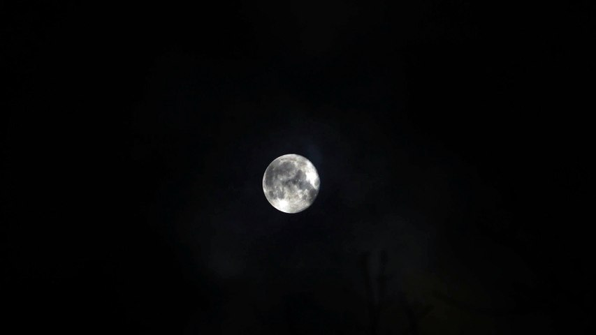 The Moon at Night