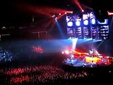 Muse - Star Spangled Banner + Interlude + Hysteria,  Target Center, Minneapolis, MN, USA  10/5/2010