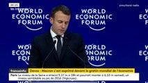 """Emmanuel Macron à Davos : """"Il a tenu un discours vraiment intéressant"""", estime le journaliste Jean-Sébastien Ferjou"""