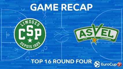 7Days EuroCup Highlights Top 16, Round 4: Limoges 61-87 ASVEL