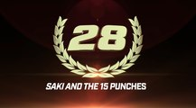 Top 50 GLORY Moments: #28 Saki and the 15 Punches