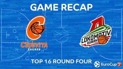 7Days EuroCup Highlights Top 16, Round 4: Cedevita 60-85 Lokomotiv