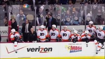 Hockey : NHL Line brawl - Philadelphia Flyers vs Pittsburgh Penguins April 1, 2012