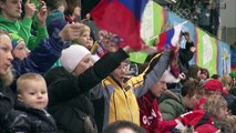 Russia too strong for USA - Innsbruck 2012 Mens Ice Hockey Semi Final
