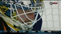 Paul Ranger punt shot in Shootout Toronto Maple Leafs vs Buffalo Sabres 9/21/13 NHL Hockey