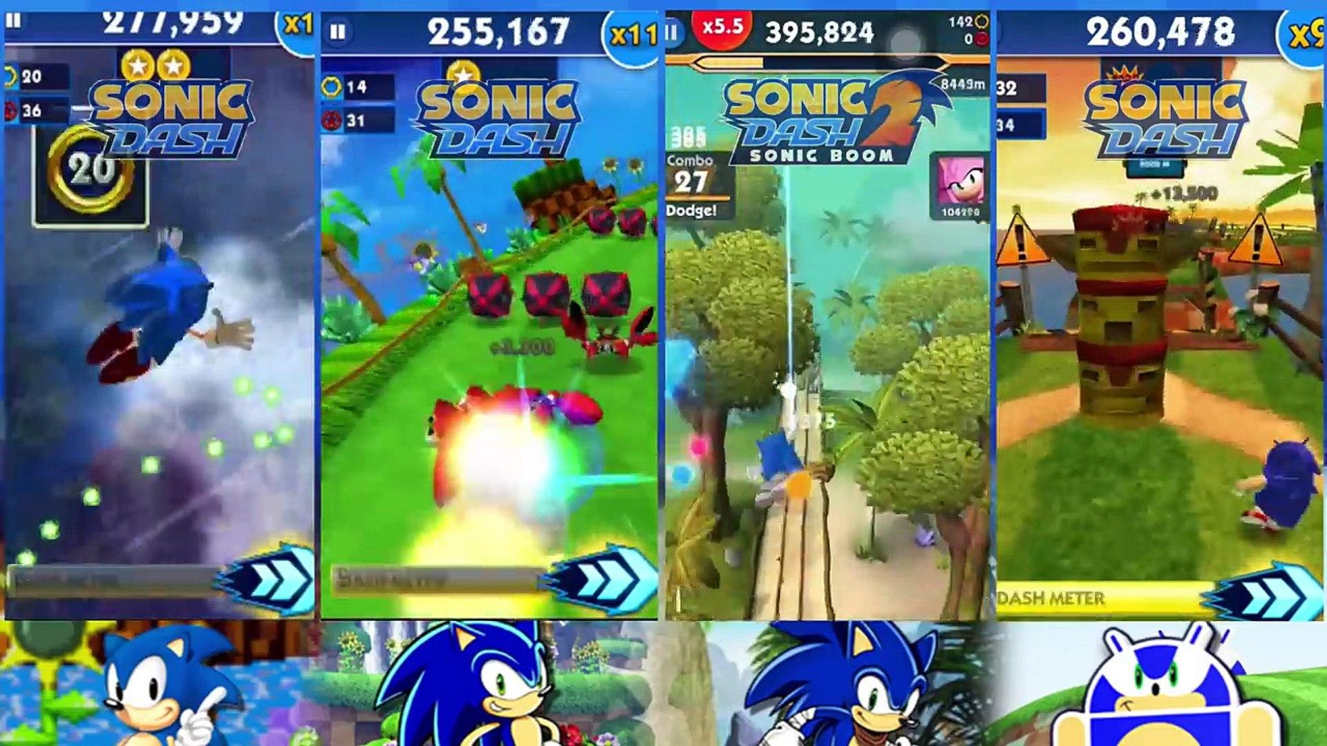 Race Against Sonics Classic Sonic Vs Modern Sonic Vs Boom Sonic Vs Andronic Video Dailymotion