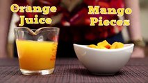 Mango Passion | Easy To Make Cool And Refreshing Mango Fruit Drink