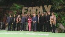 Tom Hiddleston, Eddie Redmayne Kick Off 'Early Man' Premiere