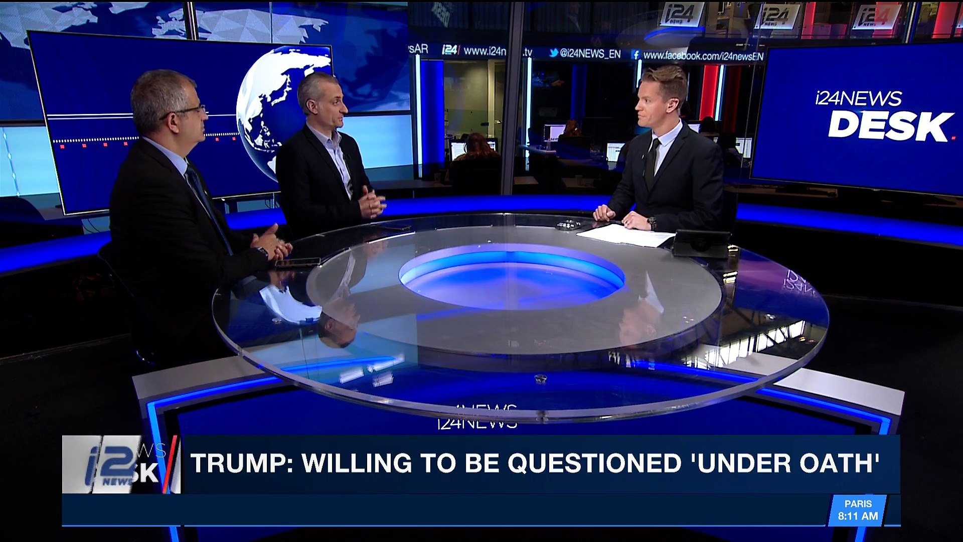 i24NEWS DESK | Are Turkey, Russia waging proxy war against the U.S.? | Thursday, January 25th 2018