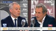 """Une fusion de LCP et Public Sénat? """"Nous travaillons à un rapprochement des deux chaînes"""", dit De Rugy"""