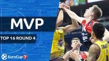 7DAYS EuroCup Top 16 Round 4 MVP: Martynas Echodas, Lietuvos Rytas Vilnius