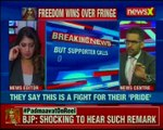 Karni Sena supporter Surajpal Amu calls NewsX anchor Sanjana Chowhan as 'baby'; threatens her On Air