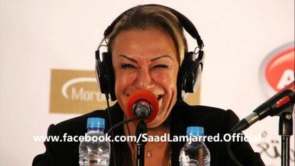 كلام  سعد المجرد و نزهة الركراكي عن هدى سعد | (Saad Lamjarred & Nezha Regueragui (Radio Aswat
