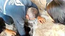Danima su se čuli JECAJI ispod betona, a onda su krenuli da ga buše i naleteli na ČUDO