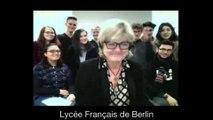 II. L'Europe et l'amitié Franco-Allemande, Partie 2 - Célébration du 55ème  anniversaire du Traité de l'Élysée