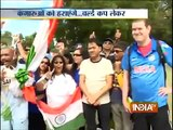 ICC Cricket World Cup 2015 Fans Cheering in Style for Team India ahead of Semi final   India TV