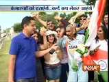 ICC Cricket World Cup 2015: Fans Cheering in Style for Team India ahead of Semi-final - India TV