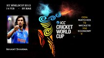 Indian Team Squad ICC Cricket World Cup 2015 ,MS Dhoni, Virat Kohli, Rohit Sharma, Ishant Sharma,