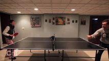 Ping Pong Cat! | Adorable Kitty Joins The Game