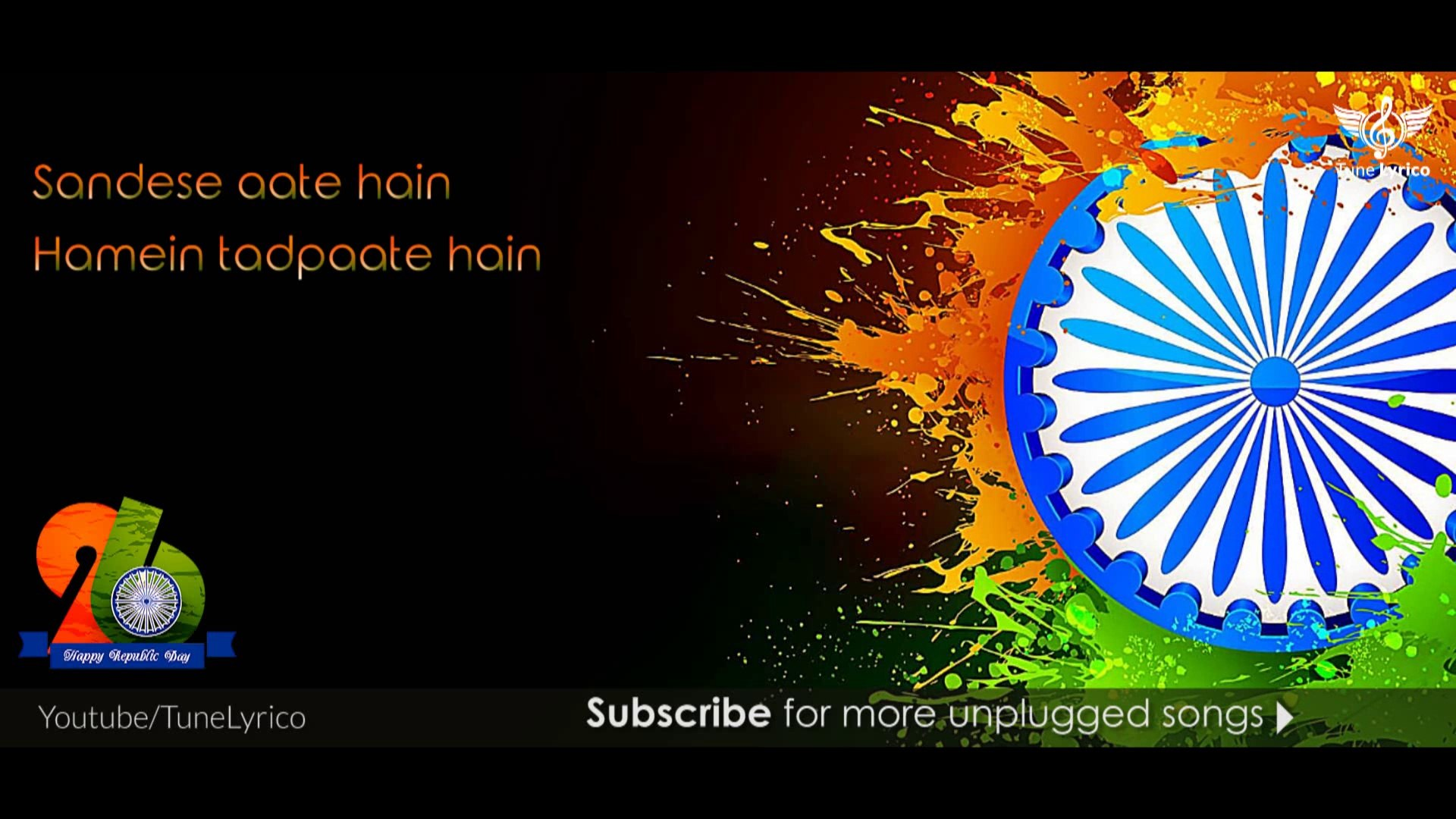 Sandese Aate Hain Full Song   Unplugged Cover   REPUBLIC DAY SPECIAL    Mrinali Gulati   Tune Lyrico