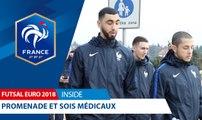 Futsal, Euro 2018, promenade et soins - Inside I FFF 2018