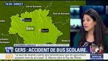 Un accident de car scolaire s'est produit dans le Gers : 28 personnes blessés, 3 graves