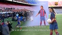 Ronaldinho Gaúcho dá conselhos para Coutinho brilhar no Barcelona; assista