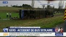 Accident de car dans le Gers : l'inspectrice d'académie se rend dans l'établissement des collégiens
