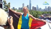 Open d'Australie 2018 - Elise Mertens, le joli conte de fées de l'Australian Open s'est terminé en demies