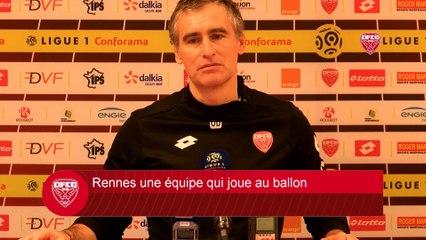 DFCO-Stade Rennais FC : Conférence de presse d'Olivier Dall'Oglio