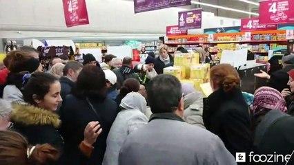 Émeute et bagarre pour du Nutella  à Intermarché