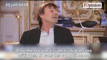 Nicolas Hulot confesse que ministre sera «son ultime expérience publique»