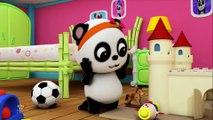Humpty Dumpty assis sur un mur - comptines pour enfants _ français enfants chanson - Baby Bao Panda