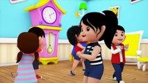 Bob le train - Cinq petits singes - Comptines - Singe rime en français _ Bob Five Little Monkeys