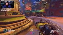 Roadhog & Pharah Overwatch Beta Gameplay Commentary w/Awall (Ellohime's Overwatch Beta Preview)