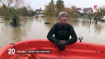 Inondations dans les Yvelines : auprès des sinistrés