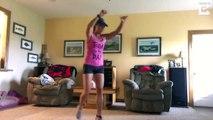 Rupture du tendon d'Achille pendant un exercice
