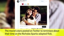 Mandy Moore And Shane West Celebrate 'A Walk To Remember'  | News Flash | Entertainment Weekly