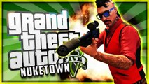 GTA 5 NEXT GEN NUKETOWN FUN w/ Whos Chaos - Epic 2v2 Battle, FaZe No Scopes, Funny Moments