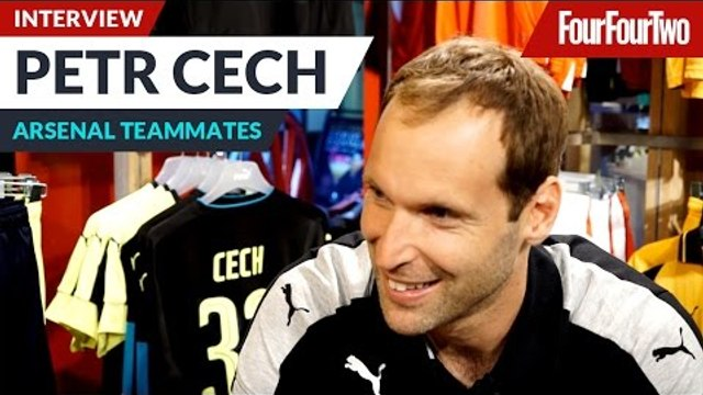 "Petr Cech | ""I'd let Olivier Giroud give me a makeover!"" 