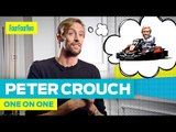 """Peter Crouch   """"I nearly killed Dirk Kuyt!""""   One-on-One"""