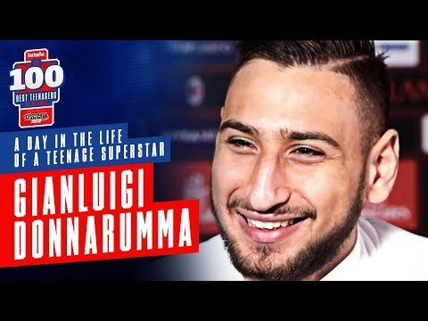 Gianluigi Donnarumma | A Day In The Life Of A Teenage Superstar