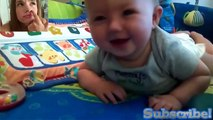 FUNNY BABIES guffawing - BEST BABIES LAUGHING FUNNY COMPILATION