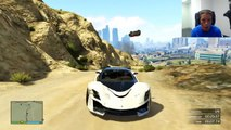 The Human Ramp - GTA Online Funny Clip (Grand Theft Auto V 5 Multiplayer Hilarious Racing)