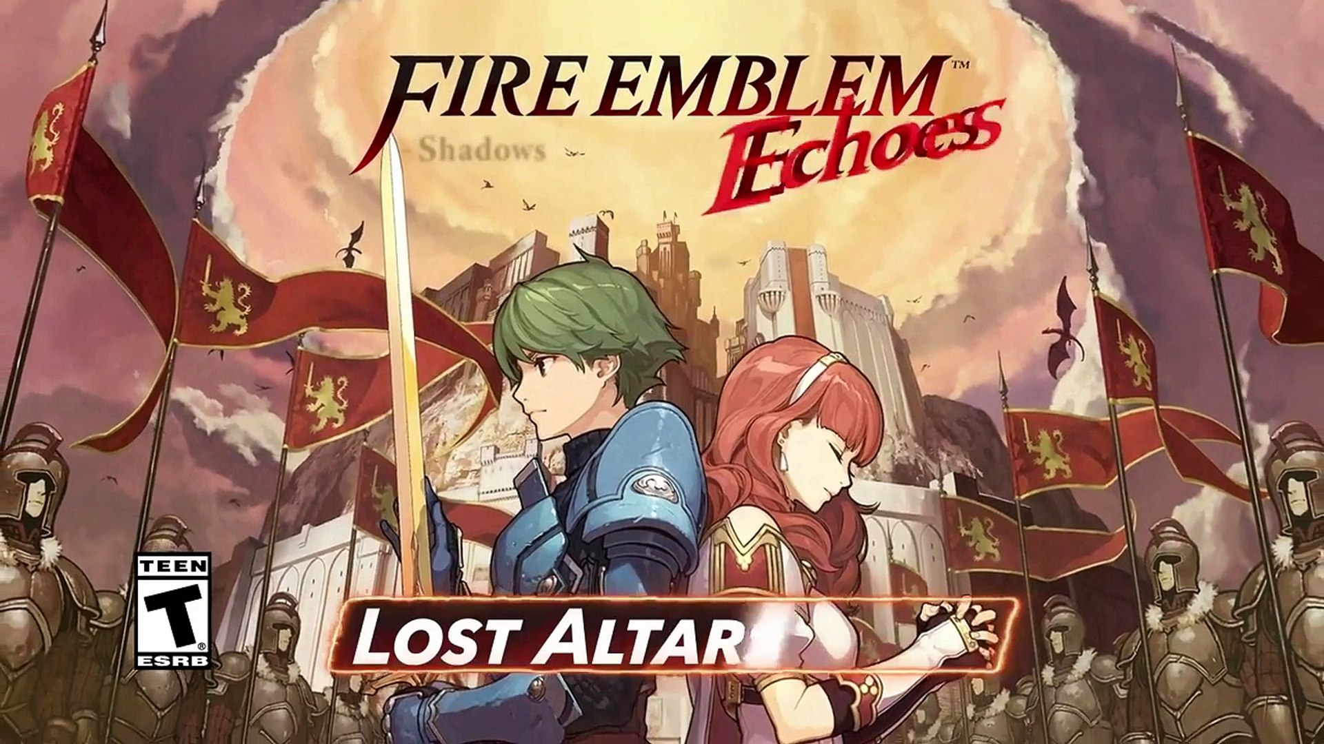 Fire Emblem Echoes Shadows Of Valentia Official Lost Altars Pack
