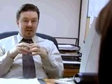 The Office UK, David Brent doing what he does best -