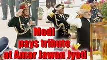 PM Narendra Modi pays homage at Amar Jawan Jyoti, India Gate on Republic Day | OneIndia News