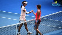 """Open d'Australie 2018 - Clara Burel : """"Je joue sans pression depuis une semaine"""""""