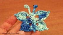 Crochet Small Butterfly Tutorial 15 Free Crochet Butterfly Patterns